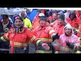 Бельгия 15,000 металлурги марш требовал защиты от Китайской стали демпинг.
