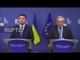 Бельгия Либерализации визового режима для Украины «будет до лета» - ЕС Юнкер.