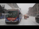 USA Chaos in Boston as deadly snow storm batters the Northeast