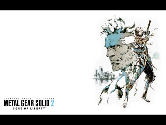 Metal Gear Solid 2 SoF - Часть 1 - Русские субтитры (PS2 Rip) - Let's play