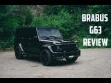 BRABUS G63 Widestar Review Gasoline Culture