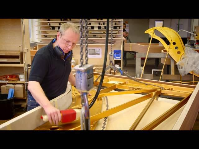 Steinway Factory Tour Hamburg