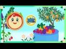Margherita gioca con la frutta primaverile Giochi per bambini
