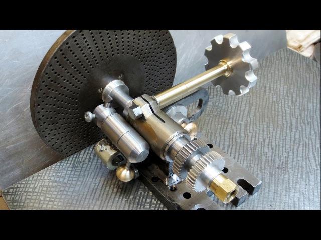 Самодельное делительно копировальное устройство для изготовления шестерен