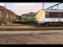 HD Freight Train Timelapse from Saint Ghislain to Monceau sur Sambre