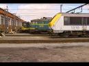 HD Freight Train Timelapse from Saint Ghislain to Monceau-sur-Sambre