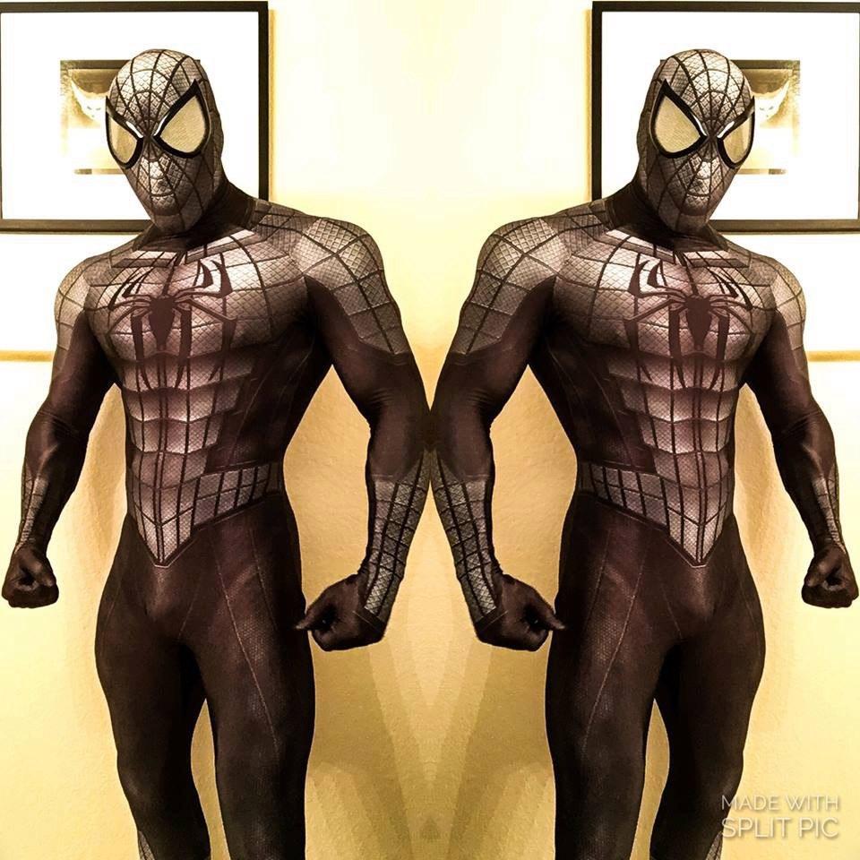 Рубрика Ночной косплей костюм - костюм Armored Spider Man