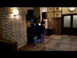 Выступление Наташи в ресторане Семь вечеров песня