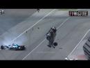 Автоспорт. Indy 500. Ужасная авария на вчерашней гонке.