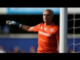 Жозе Моуринью в матче между звездами футбола и звездами шоу-бизнеса