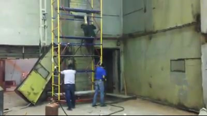 Будни ремонта нового помещения галереи Электрозавод