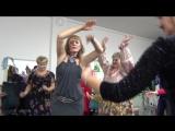Восточный танец + выход команды
