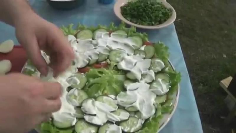 Чагыртма Азербайджанская кухня Готовим на мангале