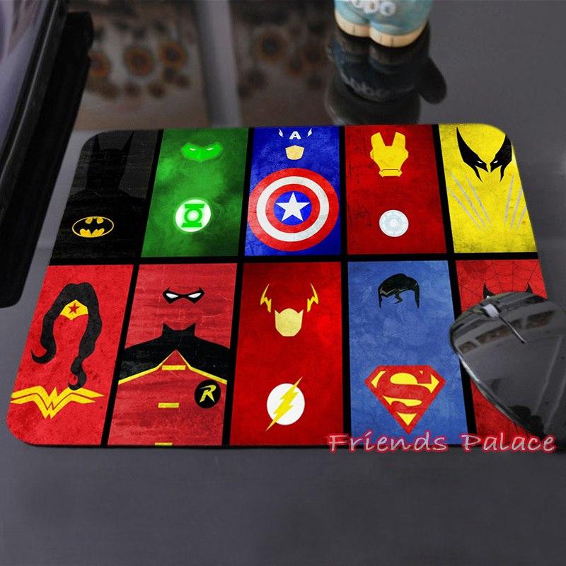 Супергеройский коврик для мыши