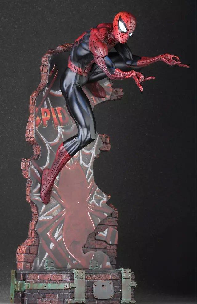 Рубрика Круто но покупать я это конечно не буду - Коллекционная фигурка Spider Man