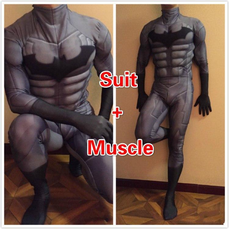 Рубрика Ночной косплей костюм - костюм Batman