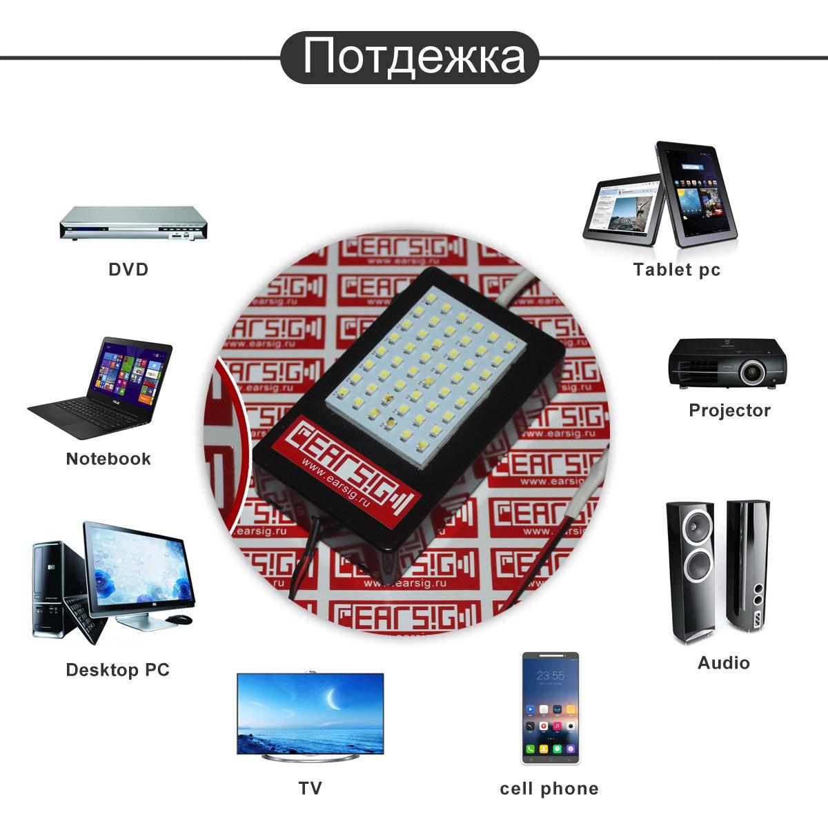 Сигнализатор световой для смартфонов