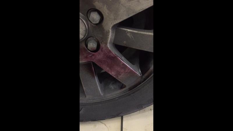 Удаление металических краплений