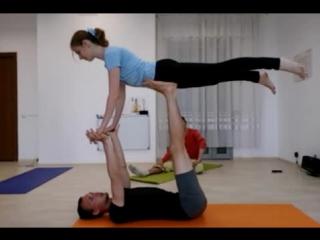 АКРО-ЙОГА в Пермской Академии Йоги