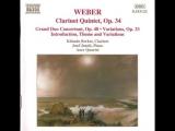 Carl Maria von Weber - Clarinet Quintet K