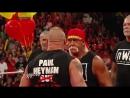 Fighting Online: Brock Lesnar crashed Hogan's birthday celebration