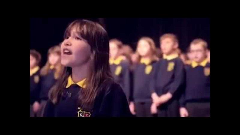Аллилуйя (Hallelujah) в исполнении девочки аутиста и детей аутистов школьного хора Killard House