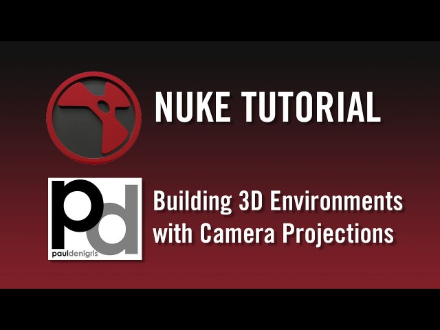 Nuke Tutorial - Building 3D Environments with Camera Projections