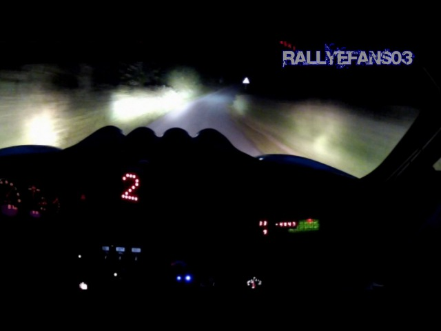Porsche 911 (996 Mk2) GT3 RS Rally-Racecar with Sequential Gearbox (Night OnBoard).