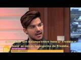 Adam Lambert - Entrevista para o Good Morning Britain (23112015) - legendado
