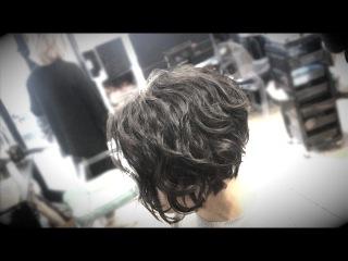 Kenneth Siu's Wavy Bob Haircut - Olivia