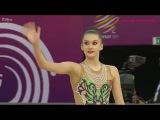 Alina Harnasko Ribbon  Final EF - EC Budapest 2017