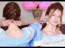 прически для очень коротких волос / французская коса (KatyaWORLD)