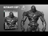 Ultimate Cop - High Poly Para Juegos - ZBRUSH - Parte 1 ES