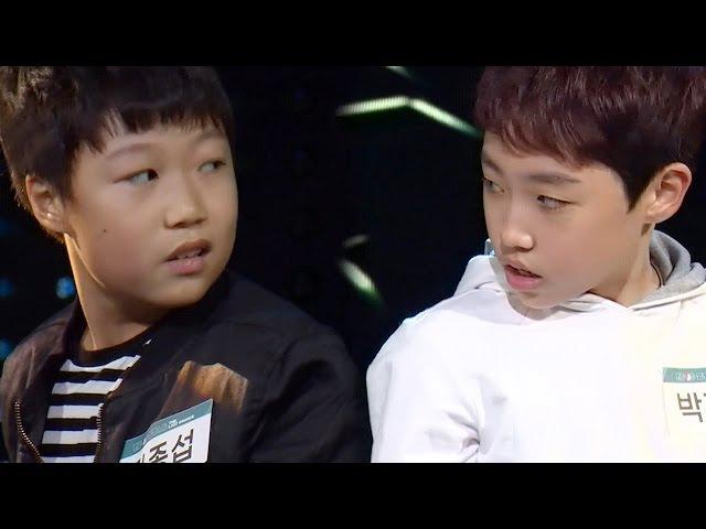 Kim Jong Seob Park Hyunjin|김종섭·박현진 11살의 나이 잊게 만드는 환상의 무대 'Thriller' 《KPOP STAR 6》 K540