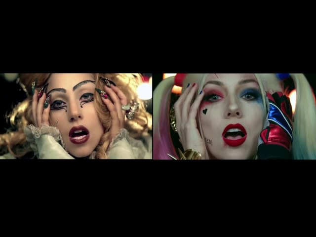 Hillywood Suicide Squad Parody /Lady Gaga Judas side-by-side comparison