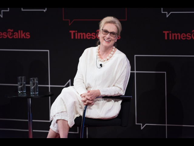 Meryl Streep I Interview I TimesTalks