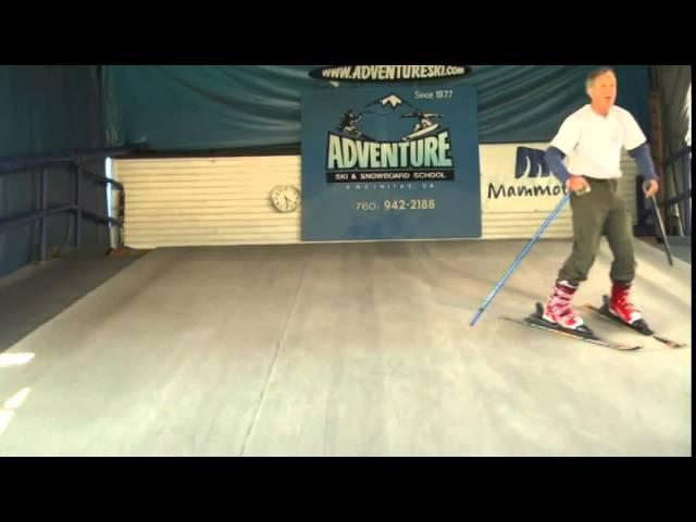 Как научиться кататься на горных лыжах. Обучение основам горнолыжной техники » Freewka.com - Смотреть онлайн в хорощем качестве