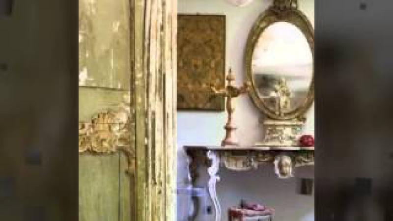 Fransız Kır evi tarzı eski ve orjinal