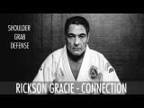 Rickson Gracie - Shoulder grab defense