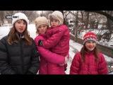 Дети из Ясиноватой: «Солдаты Украины, не надо нас обстреливать!»