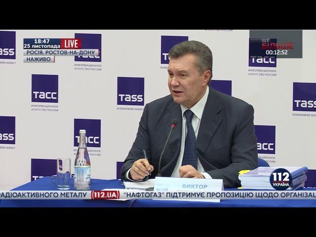Янукович о военном положении в Украине: Я не святой, я сделал много ошибок