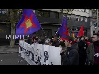 Испания: Сотни выйдут на улицы Мадрида в знак протеста против нового закона об образовании.