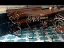 Кованый стол и скамейки, лавочки, лавка, скамья фото купить в Днепропетровске ...