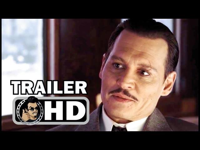 MURDER ON THE ORIENT EXPRESS Trailer 2 (2017) Johnny Depp, Daisy Ridley Thriller Movie HD