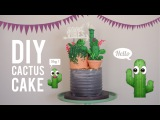 DIY Cactus Cake  Most Satisfying Cake Decorating Video  Greggy Soriano