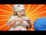 Играем в Доктора с УКОЛАМИ Все СЕРИИ подряд Доктор Арина Play the Doctor