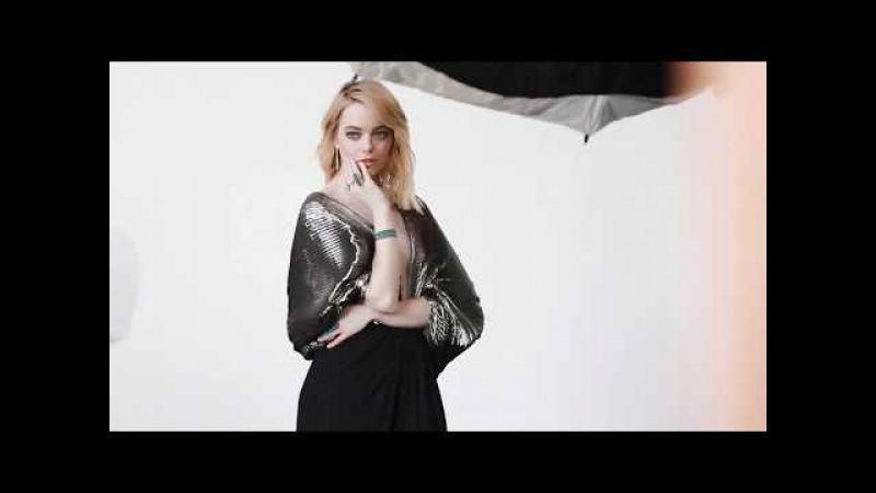 EMMA STONE - Marie Claire September 2017 BTS [FULL HD]