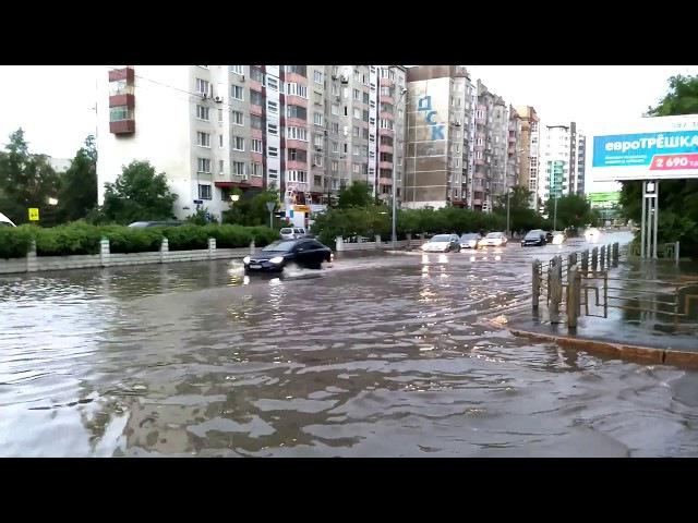 После грозы 18 июня 2017, Тюмень, ул. Малыгина