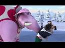 Белка и Стрелка - Озорная семейка - 🏅 Страсти на льду - Фигурное катание мопса и слона