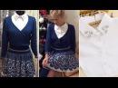 Вязание на машинке (knitting machine) Костюм юбка кофта